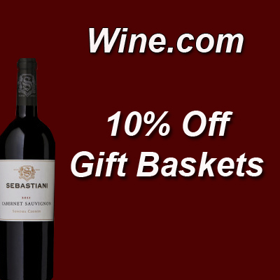 Wine.com Description: Take 10% off gift baskets at Wine.com!