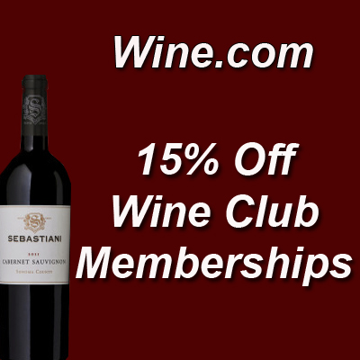 Wine.com Description: 15% Off Wine Club Memberships!