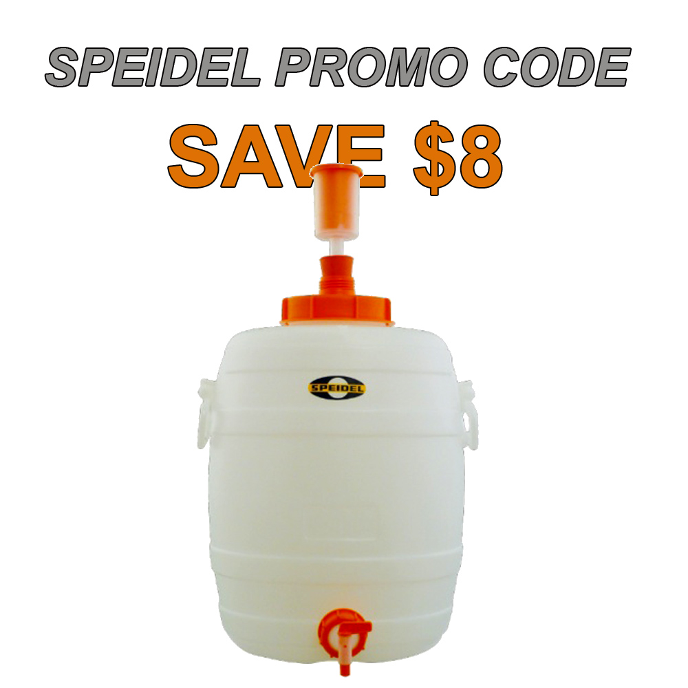 Home Wine Making Coupon Codes for 8 Gallon Speidel Fermenter for Just $52 Coupon Code