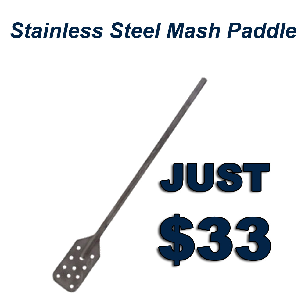 Home Wine Making Coupon Codes for Get A Stainless Steel Mash Paddle for Just $33 Coupon Code