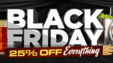 Home Wine Making Promo Codes for 25% Off of Everything Black Friday Homebrew Sale Coupon Code