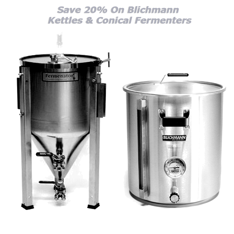 Home Wine Making Promo Codes for Save Up to 20% on Blichmann Conical Fermenters and Kettles Coupon Code