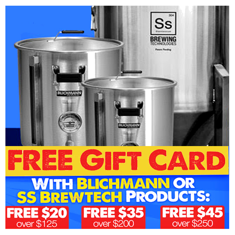 Home Wine Making Coupon Codes for Save up to $45 On Blichmann and SS BrewTech Homebrewing Equipment Coupon Code
