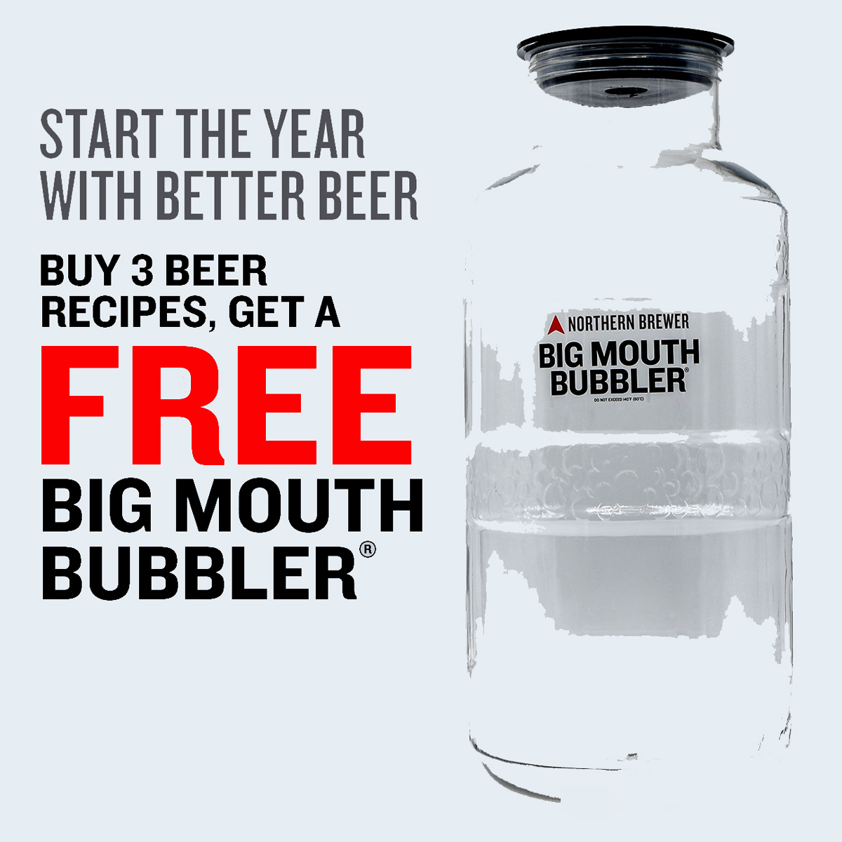 Home Wine Making Coupon Codes for Buy 3 Beer Kits And Get A Free Big Mouth Bubbler Fermenter Northern Brewer Promo Code Coupon Code
