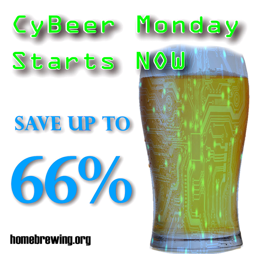 Home Wine Making Sales for Save Up To 60% During the Adventures in Homebrewing Cyber Monday Sale Sale