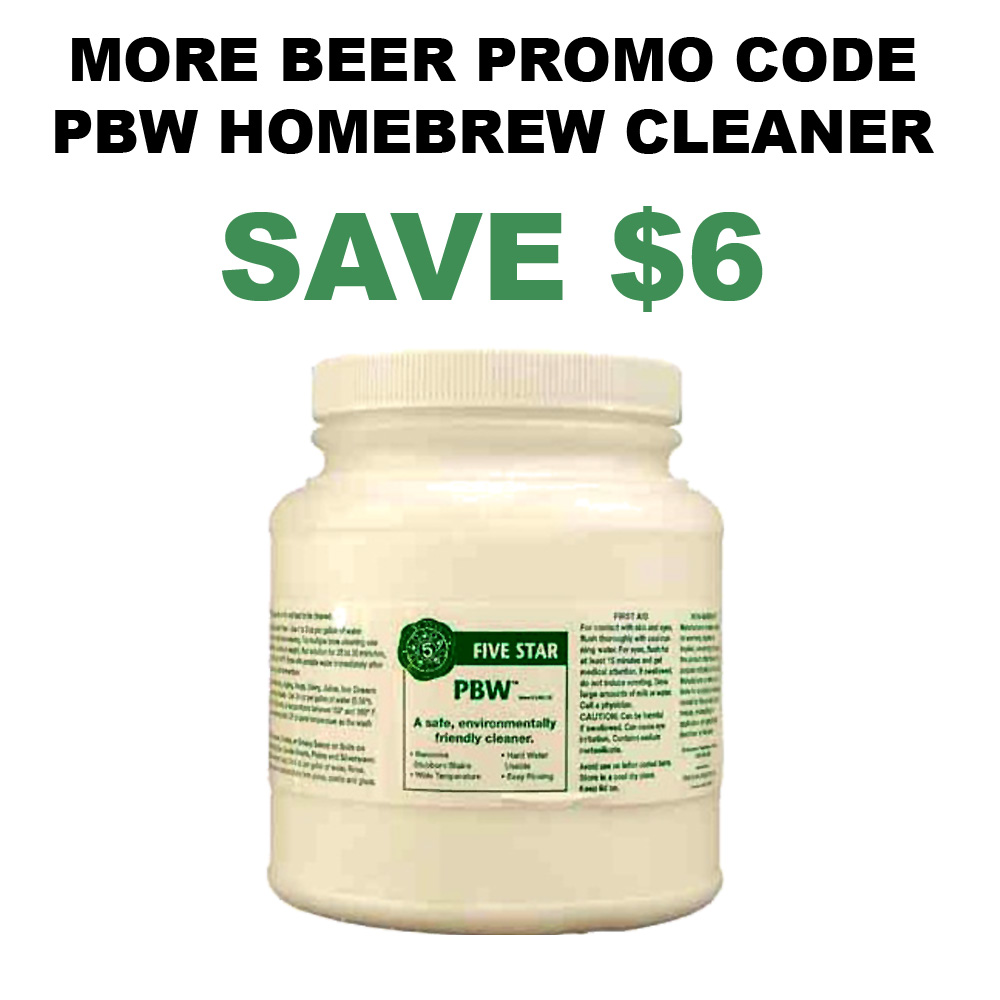 Home Wine Making Coupon Codes for 4 LBS Container of Wine Equipment Cleaner Just $20 Coupon Code