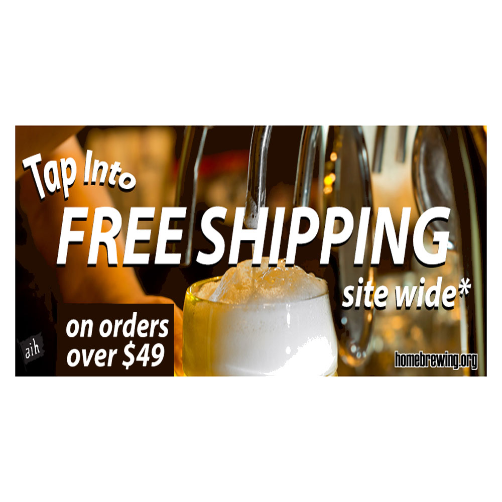 Home Wine Making Sales for Free Shipping on Orders Over $49 at Adventures In Homebrewing Sale
