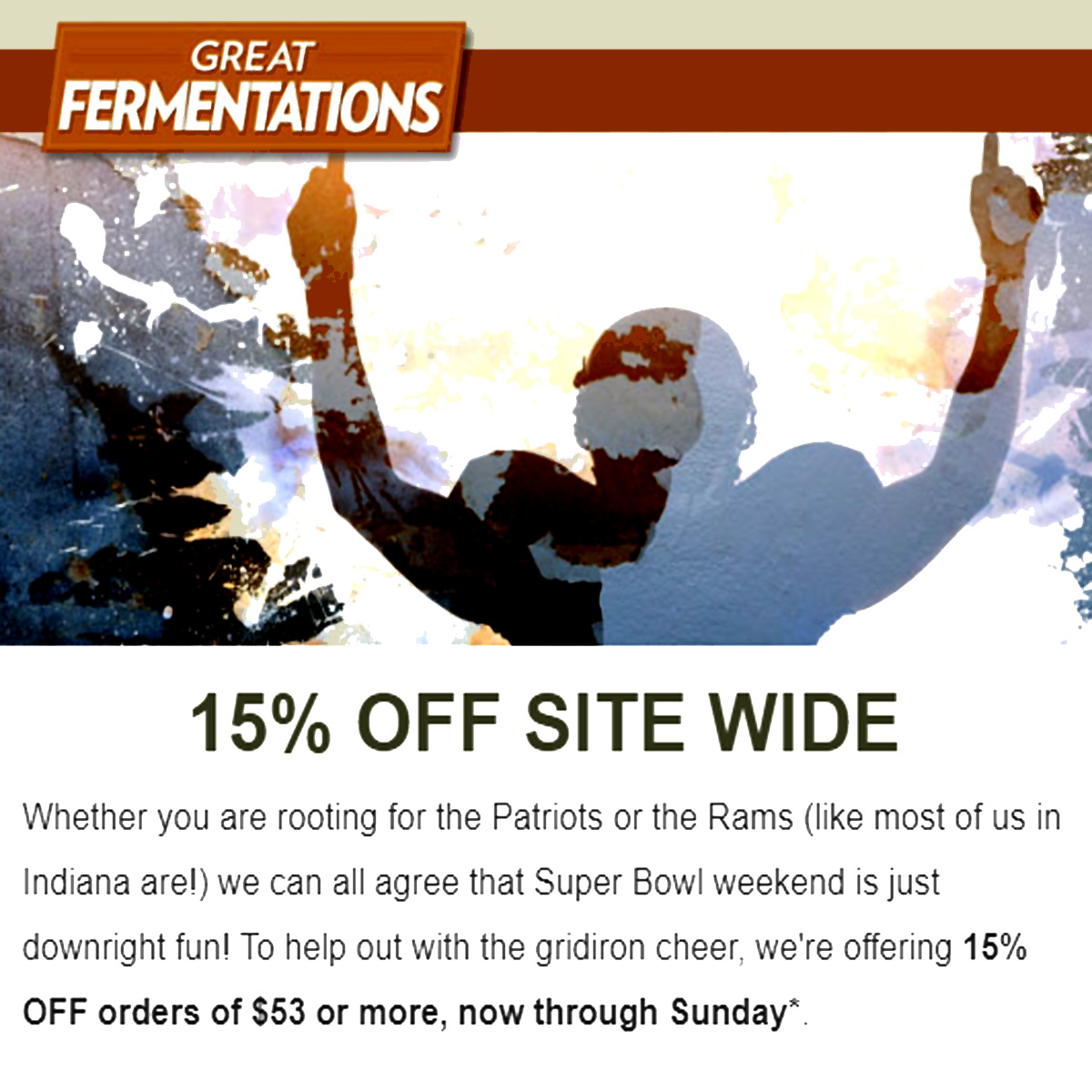 Home Wine Making Coupon Codes for Save 15% Off Site Wide at Great Fermentations With Promo Code Coupon Code
