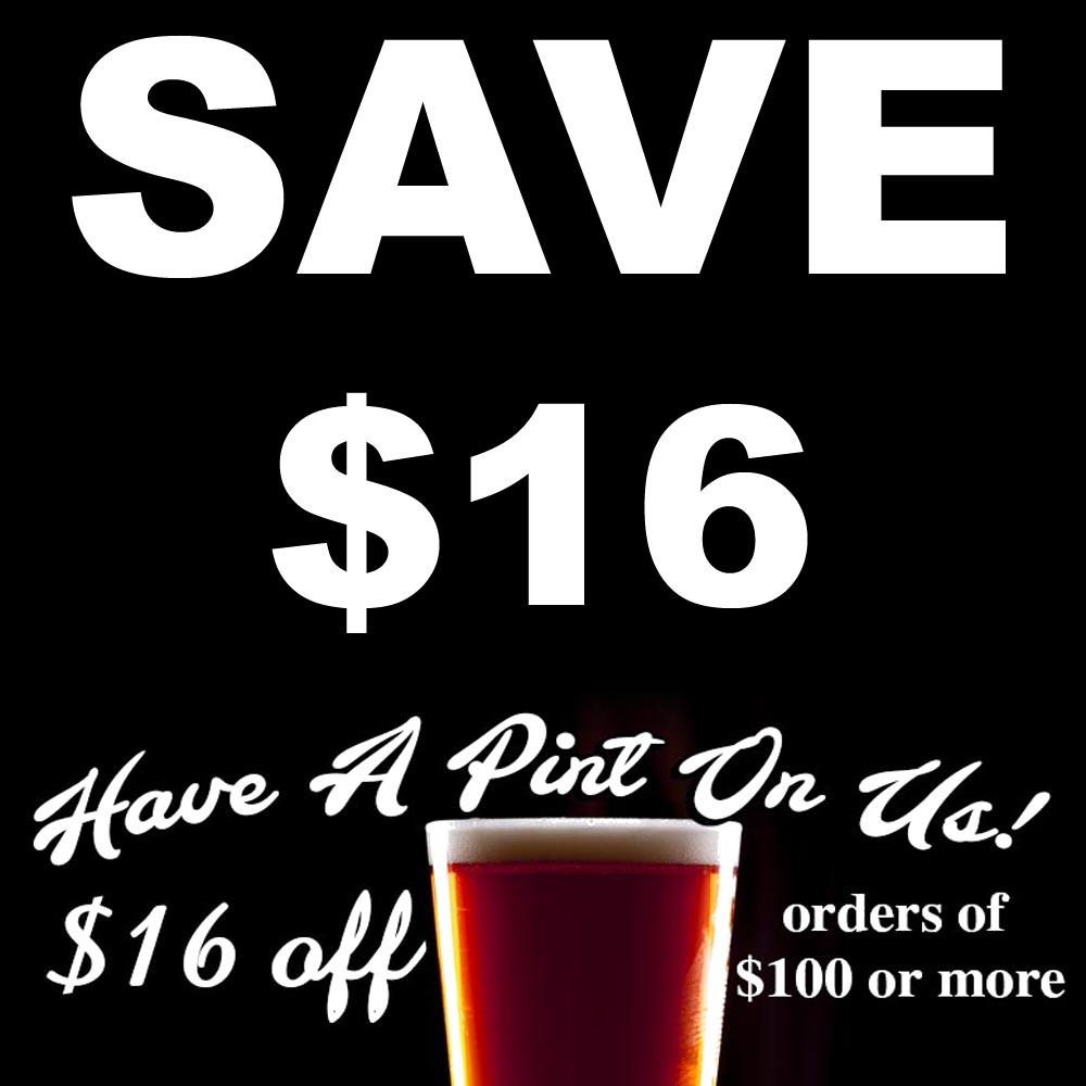 Home Wine Making Sales for Save $16 On Your Purchase of $100 Or More Sale