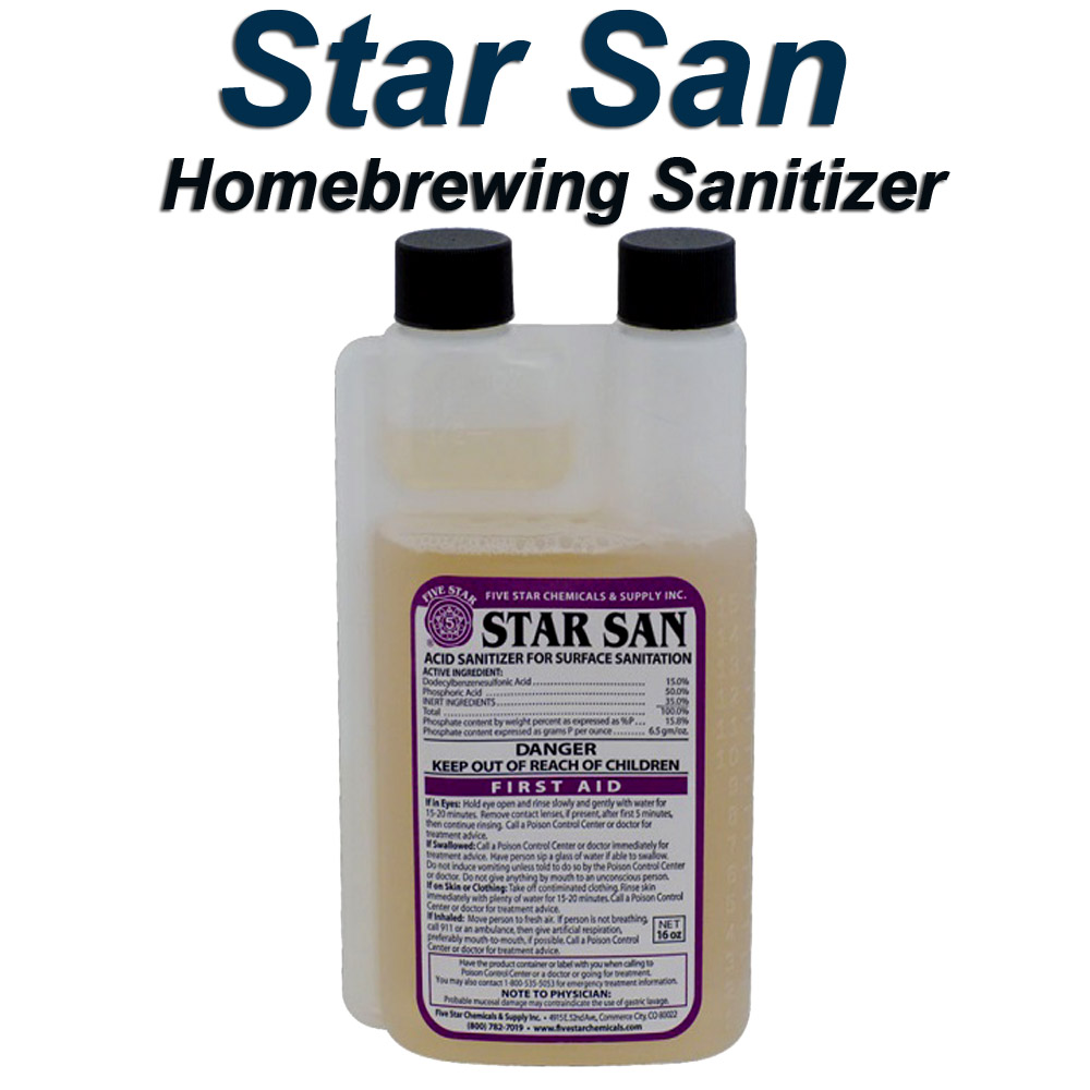 Home Wine Making Coupon Codes for Sale Price $12.99 For A 16 oz Container of StarSan Wine Making Sanitizer Coupon Code