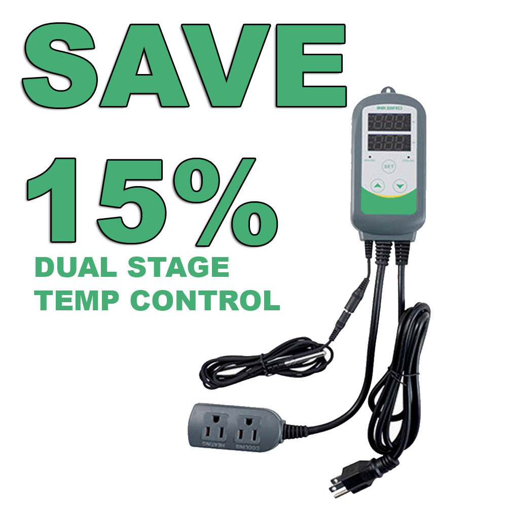 Home Wine Making Coupon Codes for Save 15% On A Inkbird Dual Stage Temperature Controller Coupon Code