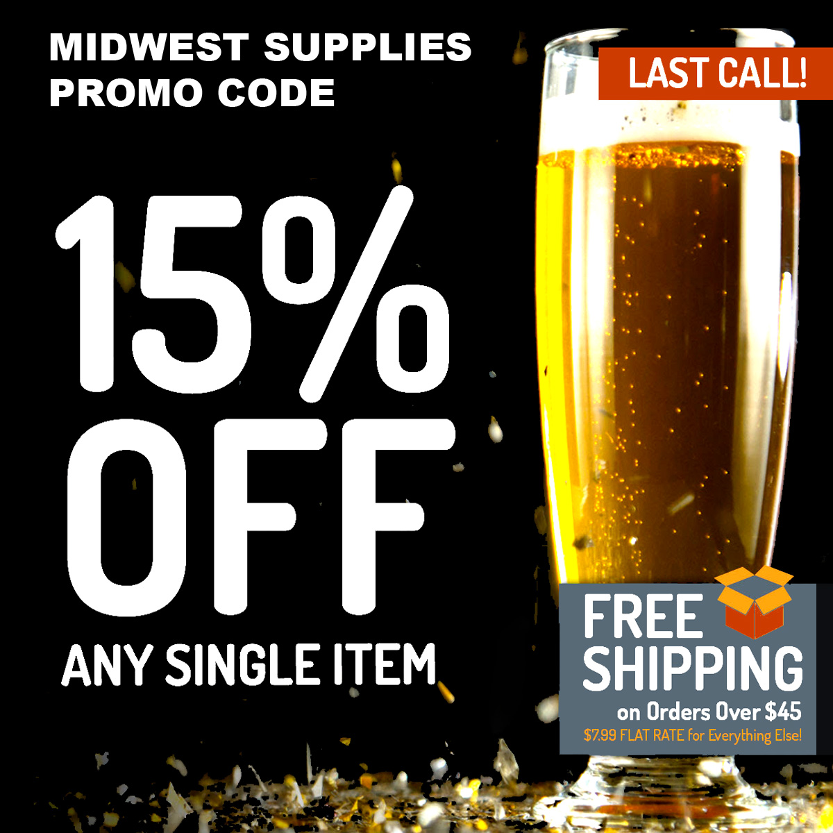 Home Wine Making Coupon Codes for Save 15% On A Single Item with this MidwestSupplies.com Promo Code Coupon Code