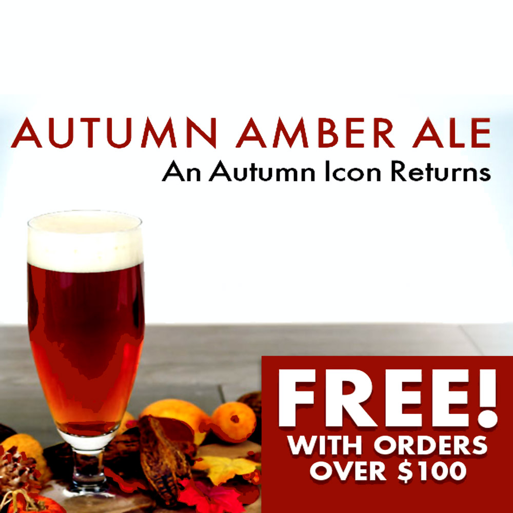 Home Wine Making Coupon Codes for GET A FREE AUTUMN AMBER ALE WITH MIDWEST SUPPLIES ORDERS OVER $100 Coupon Code