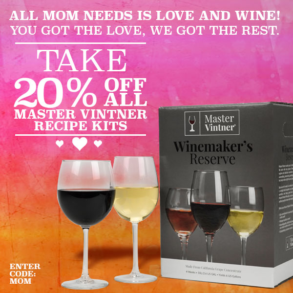 Home Wine Making Coupon Codes for Save 20% On Master Vintner Wine Kits  Coupon Code