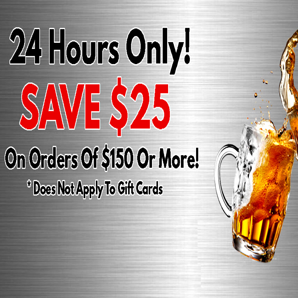 Home Wine Making Coupon Codes for More Beer Promo Code! Save $25 On Orders Of $150 Or More Coupon Code