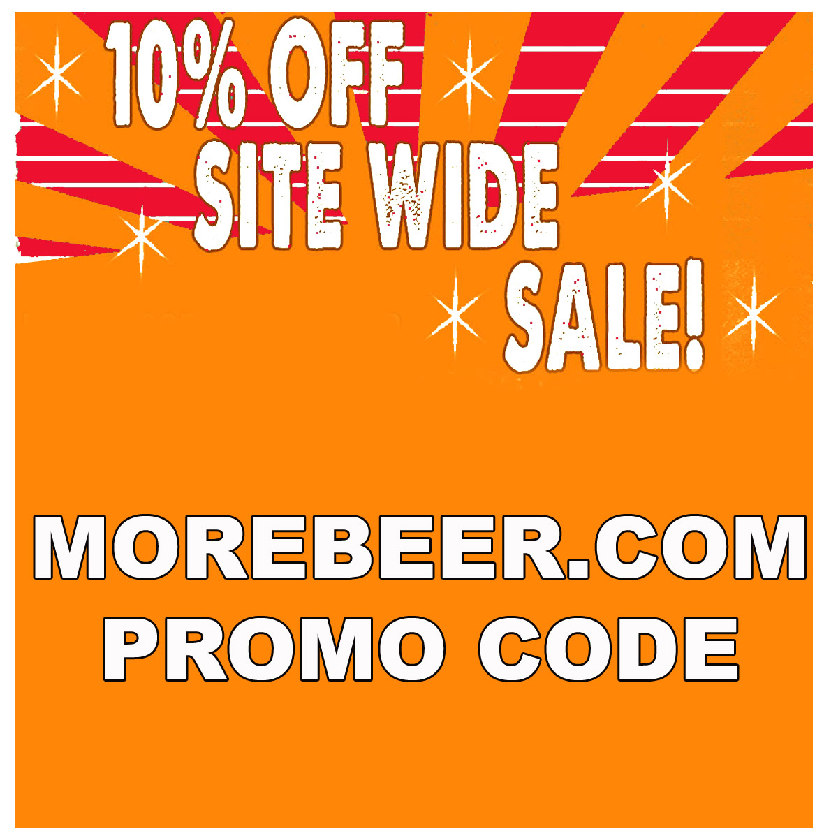 Home Wine Making Coupon Codes for Save 10% Site Wide at MoreBeer.com with this More Beer Promo Code Coupon Code