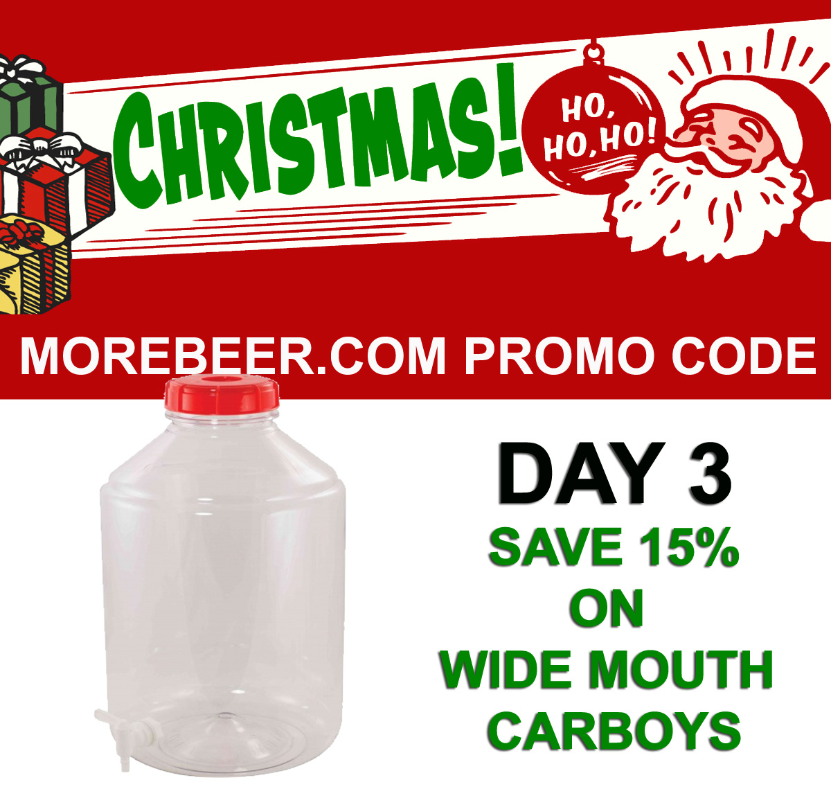 Home Wine Making Coupon Codes for Save 15% On FerMonster Wide Mouth Home Brewing Carboys Coupon Code