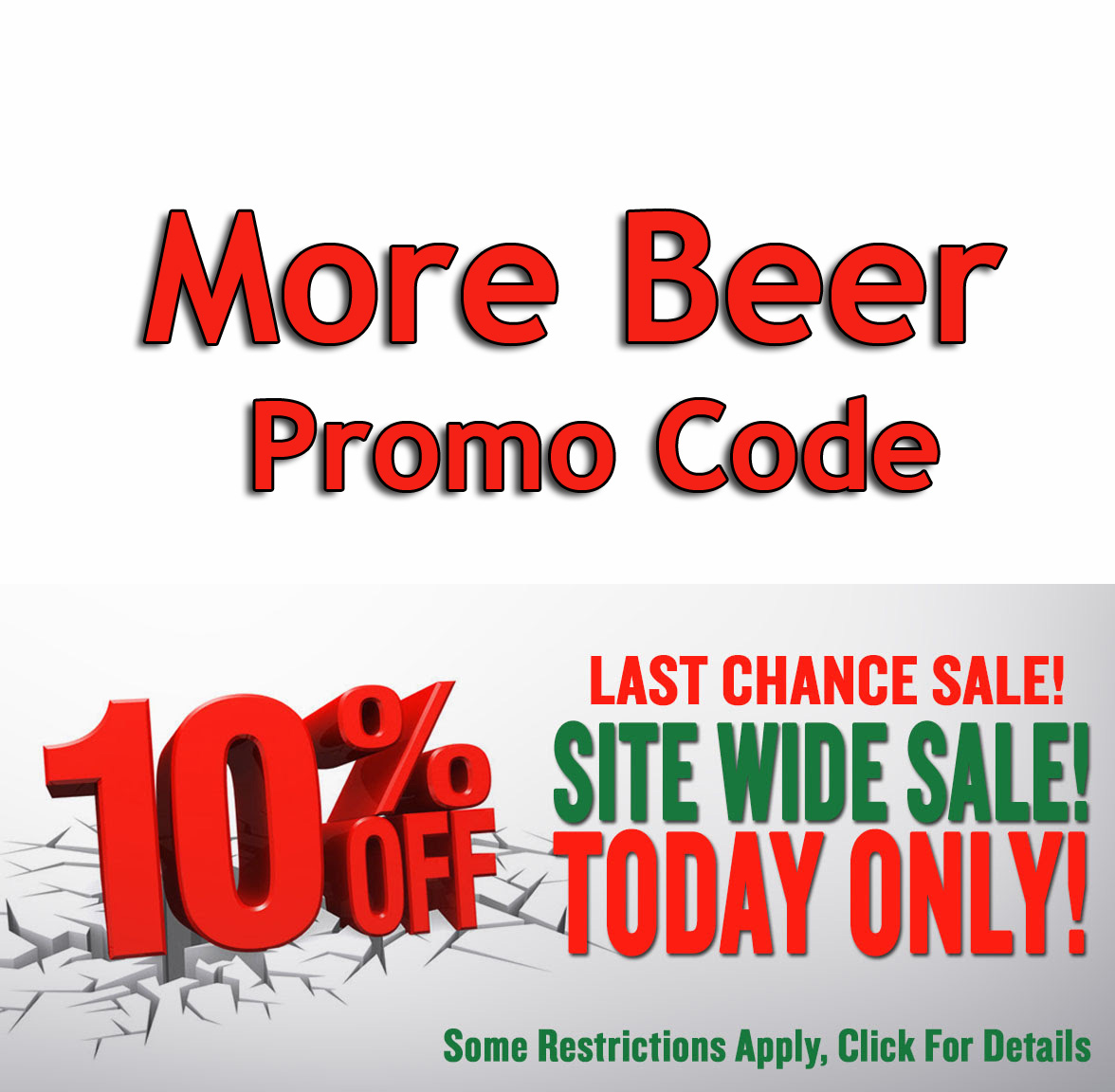 Home Wine Making Coupon Codes for Save 10% Site Wide at MoreBeer! Coupon Code