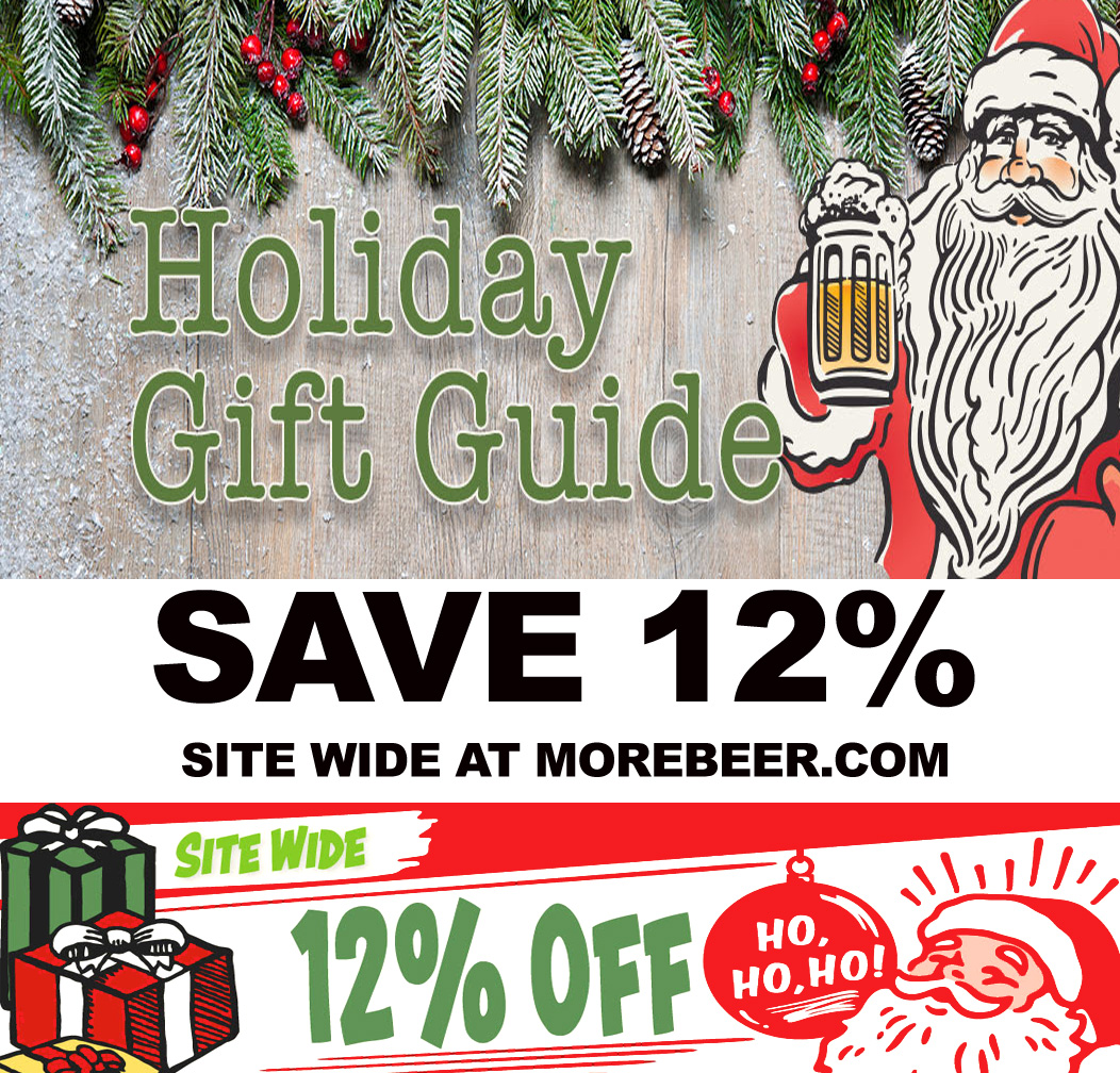 Home Wine Making Coupon Codes for Save 12% Site Wide At MoreBeer.com With This More Beer Promo Code Coupon Code