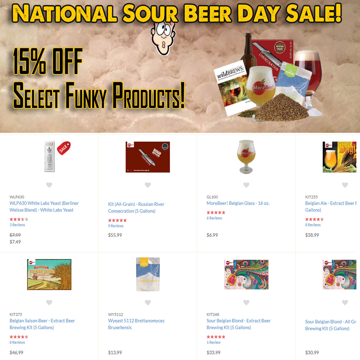 Home Wine Making Coupon Codes for Use this MoreBeer.com promo code for 15% off select MoreBeer products Coupon Code