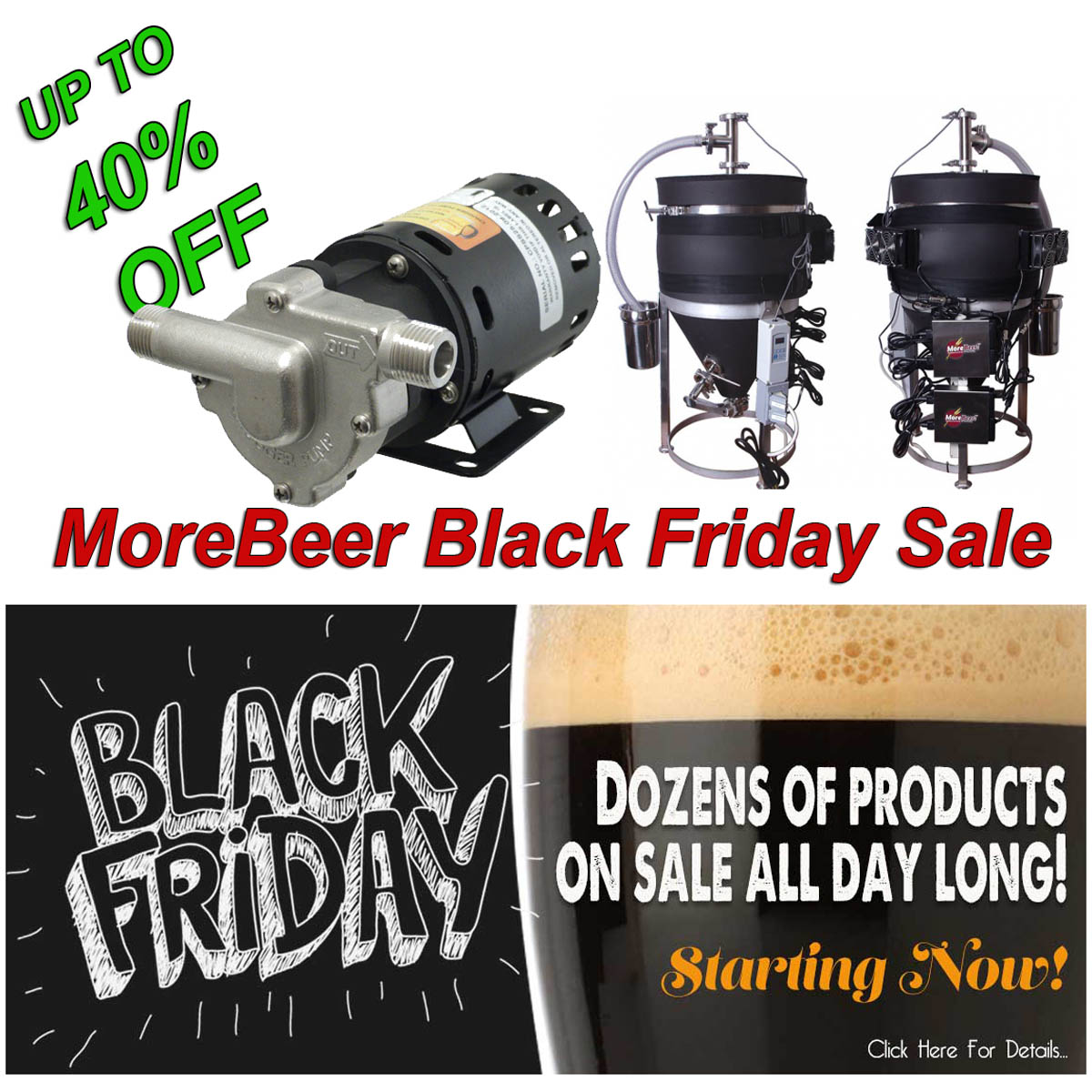 Home Wine Making Promo Codes for MoreBeer Black Friday Sale Going On Now Promo Codes