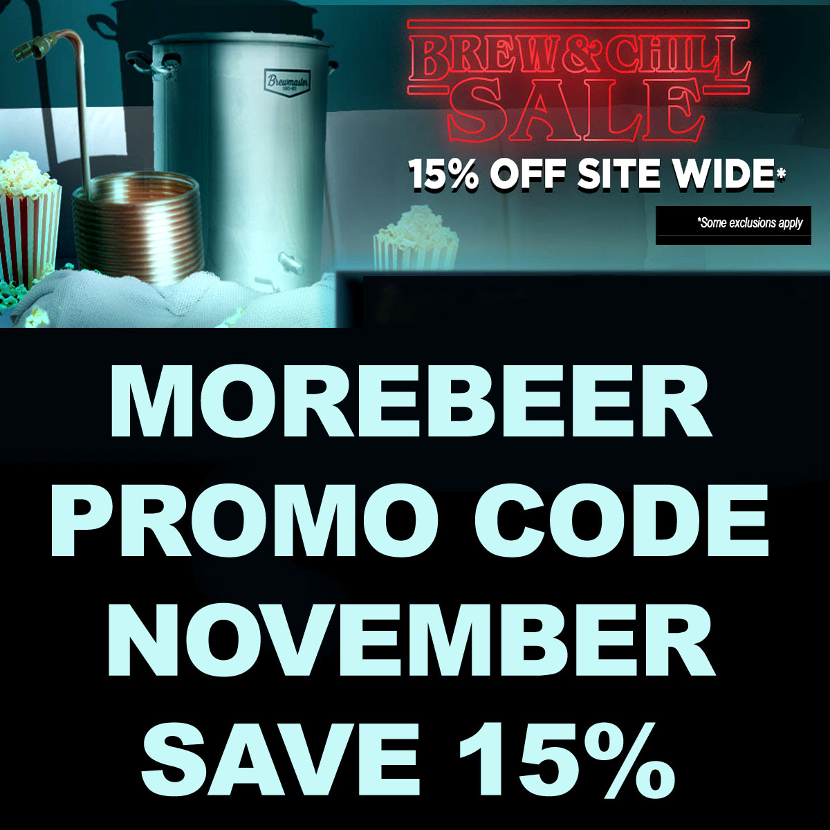 Home Wine Making Coupon Codes for Save 15% Site Wide at More Wine with this More Beer Promo Code Coupon Code