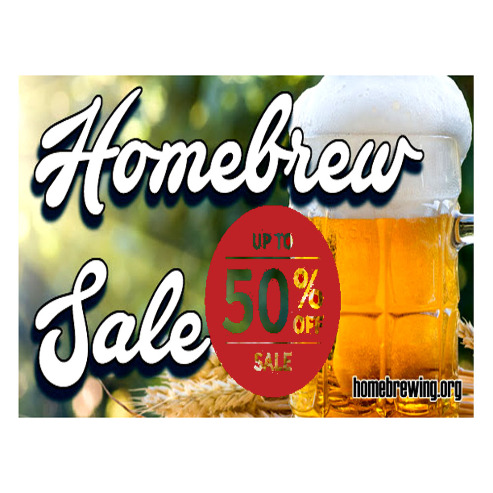 Home Wine Making Sales for Save Up To 50% On Your Homebrewing Purchase Sale