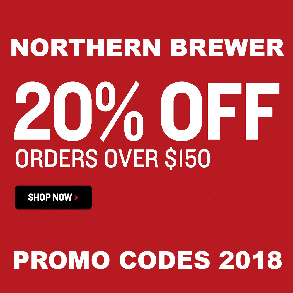 Home Wine Making Coupon Codes for Save 20% On Orders of $150+ At Northern Brewer Coupon Code