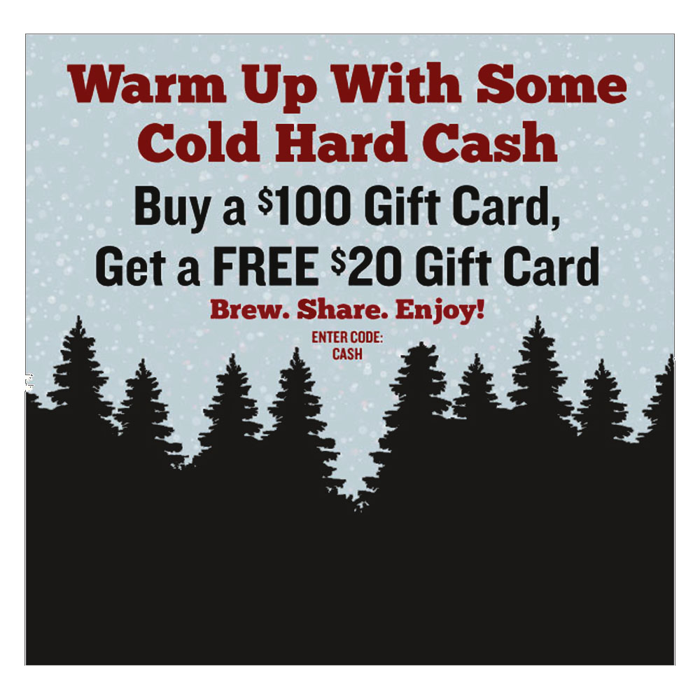 Home Wine Making Coupon Codes for Free $20 Gift Card When You Buy a $100 Gift Card Coupon Code
