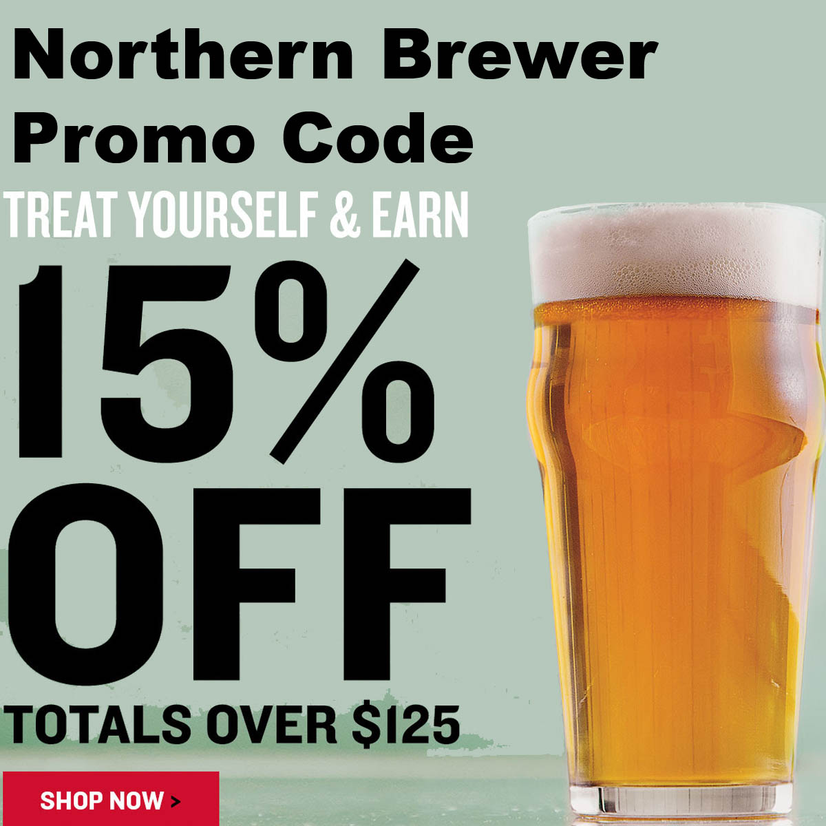 Home Wine Making Coupon Codes for Save 15% Off Orders Over $125 With This NorthernBrewer.com Promo Code Coupon Code