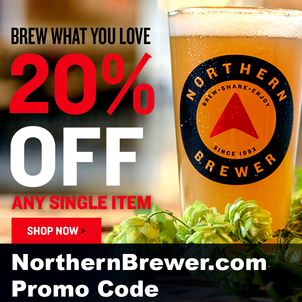 Home Wine Making Coupon Codes for Save 20% On Any Single Item + Free Shipping Over $30 at Northern Brewer Coupon Code