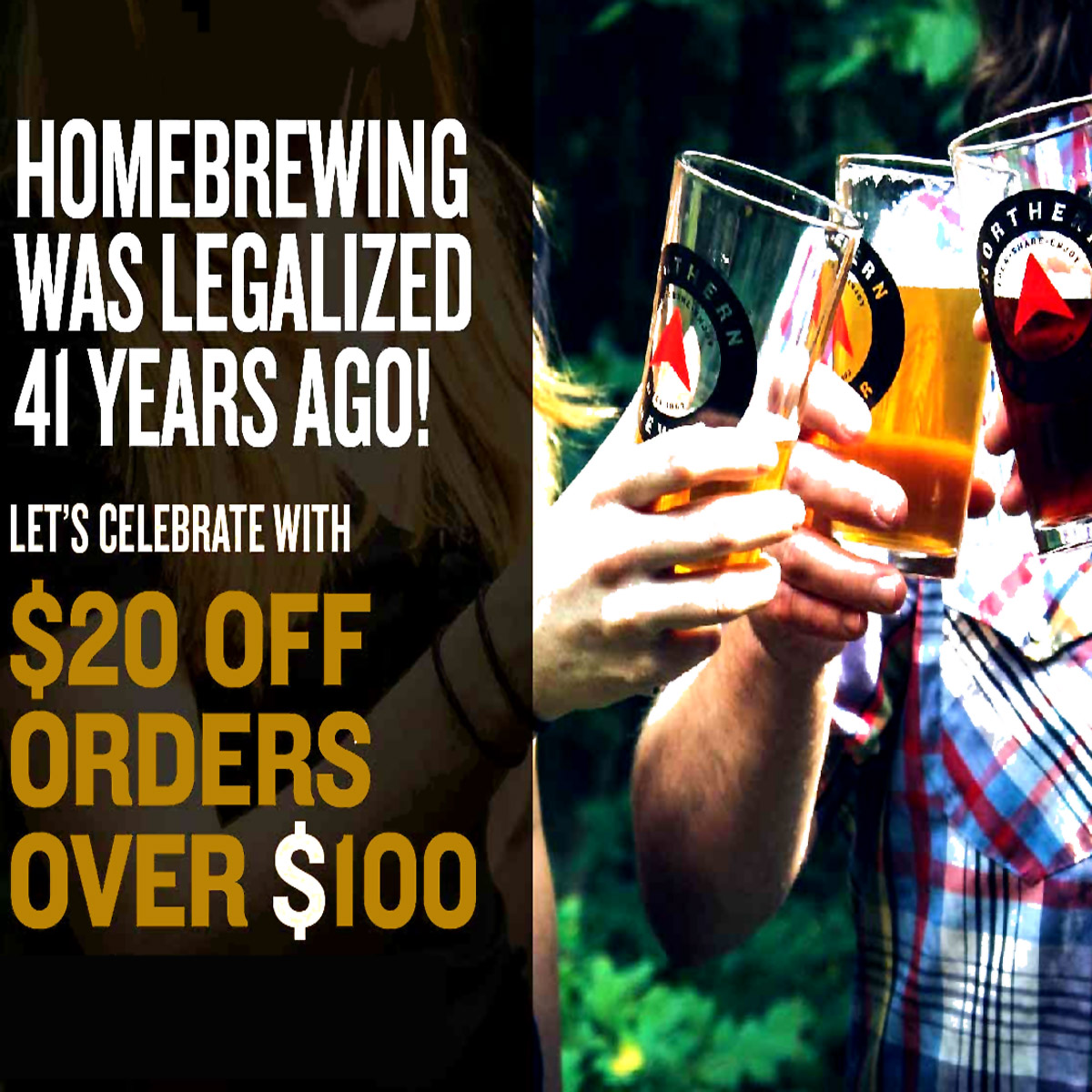 Home Wine Making Coupon Codes for Save $20 on a purchase at Northern Brewer with this NorthernBrewer.com Promo Code for October 2019 Coupon Code