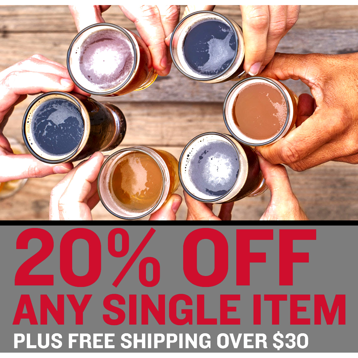 Home Wine Making Coupon Codes for Save 20% On A Single Item At Northern Brewer With this Promo Code Coupon Code