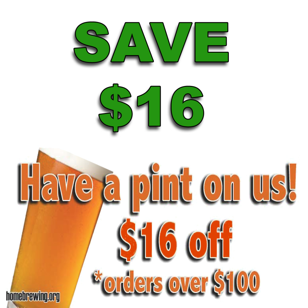 Home Wine Making Sales for Save $16 On Any Order Of $100+ Sale