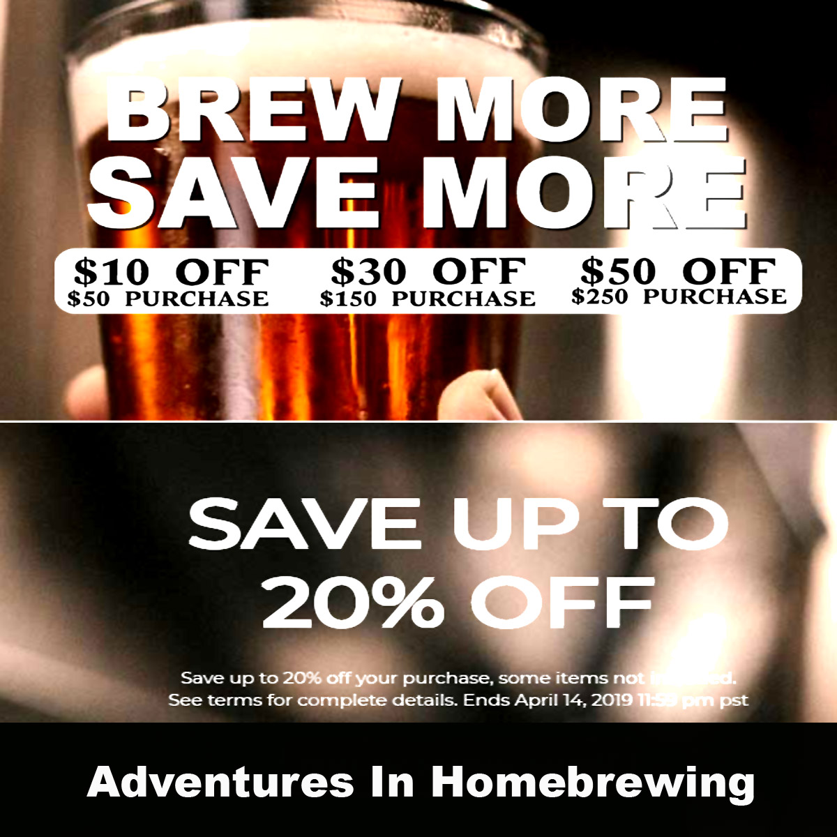 Home Wine Making Coupon Codes for Save Up To $50 Off Your Purchase at Homebrewing.org.  No promo code required.  Click Link Coupon Code