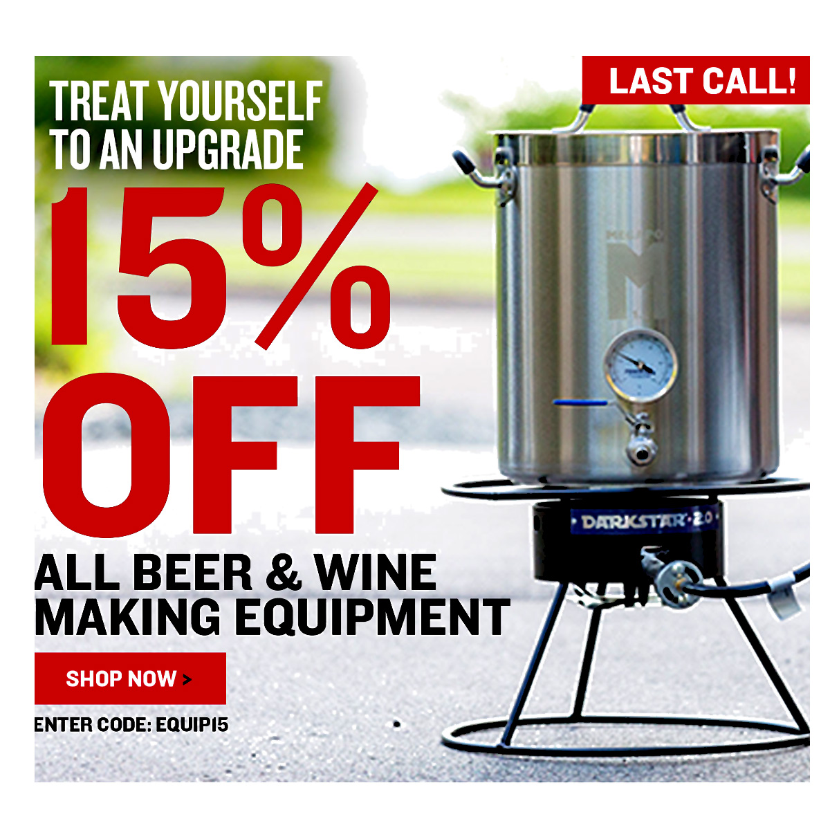 Home Wine Making Coupon Codes for Save 15% On Equipment at NorthernBrewer.com with Promo Code Coupon Code