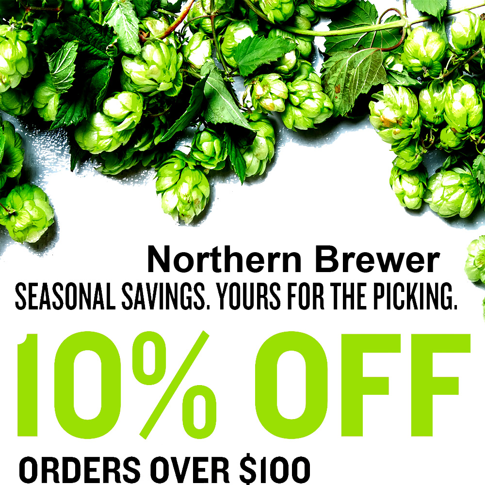 Home Wine Making Coupon Codes for Save 10% On Orders Over $100 at Northern Brewer Coupon Code