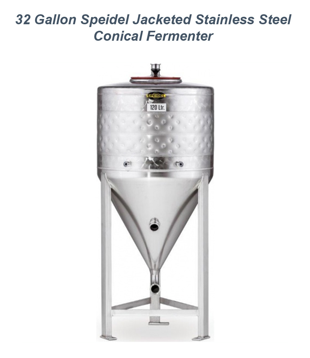 Home Wine Making Promo Codes for Save $250 On A Speidel 32 Gallon Jacketed Stainless Steel Conical Fermenter Promo Codes
