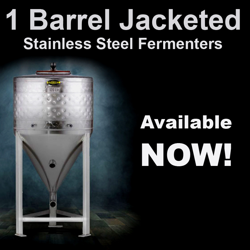 Home Wine Making Coupon Codes for Speidel 31 Gallon Jacketed Stainless Steel Conical Fermenter Coupon Code