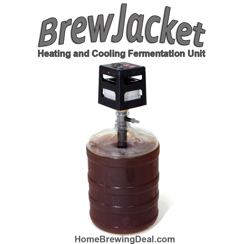 Home Wine Making Promo Codes for Save $31 on a BrewJacket Fermentation Heating and Cooling Unit Promo Codes